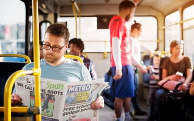 DAILY MAIL AND GENERAL TRUST'S METRO PERSEVERES THROUGH LOCKDOWN